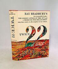 Twice 22-Ray Bradbury-Signed!-First/1s t Book Club Edition-Golden Apples-Medicine
