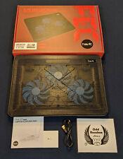 Havit 15.6' - 17' inch Laptop Cooling Pad / Blue / HV-F2056