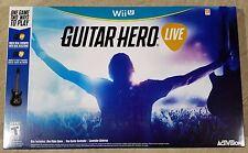 Guitar Hero Live - Nintendo Wii U Brand New!