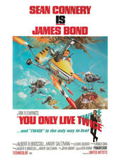 James Bond-You Only Live Twice-Little Nelly-Ready Framed Canvas 30x40cm