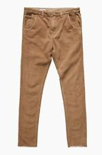 Bnwt La critique Diapositive M. paresseux en Velours Côtelé Pantalon 34 camel documentaire