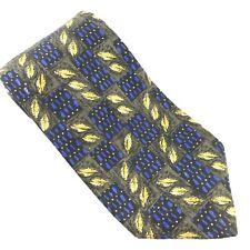 Robert Talbott Tie Best of Class Nordstrom Gold Oak Leaves 100% Silk Classic