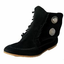 Giuseppe Zanotti Homme Men's Black Suede Leather Ankle Boots Shoes US 9 IT 42