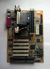 Abit BE6 RAID Mobo with CuMi Celeron 1.1GHz CPU and 768MB RAM - Test OK!