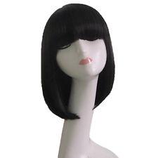 Cute Girl Women Beauty Bangs Wigs Short Straight BOB Hair Full Wig Cosplay hot #