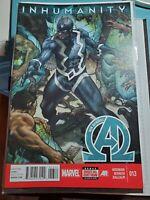 New Avengers #13 VF (2013 Series) Marvel Comic Hickman Inhumanity