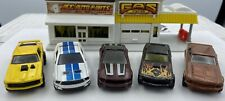 Lot of 5 Collectible/ Die-Cast Cars Mustangs/ 1:64th Scale/ Hot Wheels Hwfm16