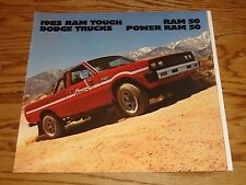 Original 1983 Dodge Ram 50 / Power Ram 50 Sales Brochure 83