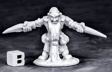 1 x DWARF ROYAL WEAPONMASTER - BONES REAPER figurine miniature rpg nain 77574