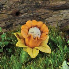 Flower Bud Birthday Baby  Daffodil  March Dollhouse Miniature Fairy Garden 16962