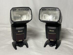 Set of 2 Nissin MG8000 Extreme Flashes for Nikon Digital SLR Cameras