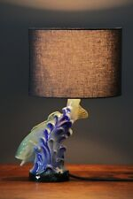 porcelain Bass fish table lamp original bespoke designed/made by empiricalstyle