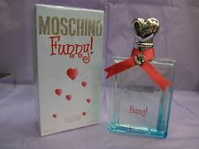 FUNNY MOSCHINO by MOSCHINO 3.4 FL oz/ 100 ML Eau De Toilette Spray In Sealed Box
