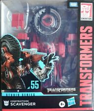 "Hasbro Transformers Studio Series 55 Leader Class Constructicon Scavenger 8.5"""