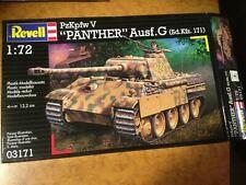 maquette 1/72,revell, char panther + 2 set de detaillage CMK