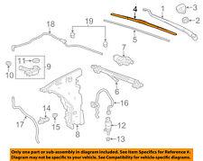 Chevrolet GM OEM 2016 Malibu Wiper Arm-Front Blade 23353587