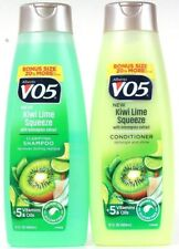 Alberto VO5 15 Oz Kiwi Lime Squeeze Lemongrass Extract Shampoo & Conditioner Set