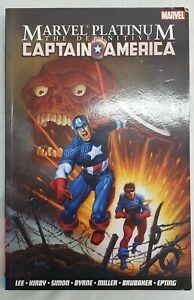 The Definitive Captain America paperback - Graphic Novel - Marvel Comic