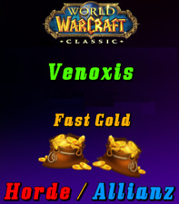 WoW Classic Gold - VENOXIS - Horde&Allianz  500 - 2000 *Express Versand