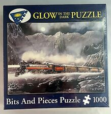Train Puzzle Alberta Bound Artist Ted Blaylock Glow in the Dark 1000 pc Sealed
