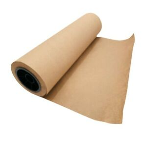 """Brown Kraft Paper Roll - 18"""" x 2220"""" (185') Recycled #40 bond, Crafts, packaging"""