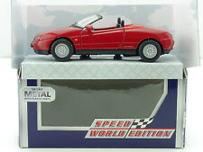 Welly Speed World Edition 310 004 1 Alfa Romeo Spider rot 1:36-38 OVP 1412-23-71