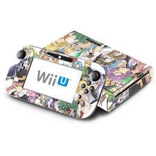 Skin Decal Cover for Nintendo Wii U Console & GamePad - Rune Factory