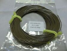 Cote's Fly Shop private label fly line WF8S (T3)  sinking Line brown (3IPS)