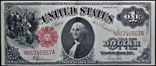 1917 $1 Legal Tender Us Extra Fine Paper Large Size Money Note #6567A