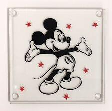 Mickey Mouse - Handmade Glass Coaster