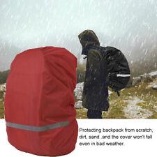 Backpack Rain Cover Waterproof Rucksack Bag Reflective Strip Covers For Hiking