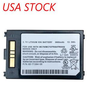Replacement Battery for Motorola/Symbol MC75 & MC70 Series. 3600mAh Extended