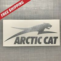 Arctic Cat Silver Metallic Decal