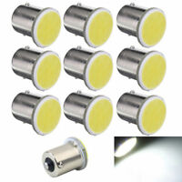 10pcs 1156 BA15S P21W White Led Car LED 1156 Lamp COB 12 SMD 12V Voltage Hot