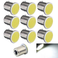 10pcs 1156 BA15S P21W Led Car LED 1156 Brake Lamp Warning COB 12 SMD 12V White