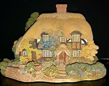 Vintage Collectible From Liliput Lane, 1992 Limited Edition, Honeysuckle Cottage