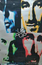 U2 1997 Pop Rare Original Uk Jumbo Promo Poster