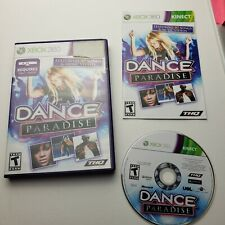 Dance Paradise Xbox 360 Kinect Game tested manual complete