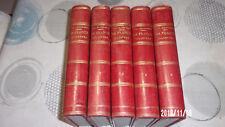Malte-Brun La France illustrée / 5 volumes 1885