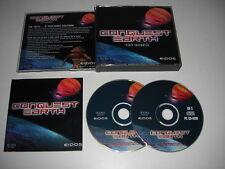 CONQUEST EARTH-primo incontro PC CD ROM CD & manuale SPEDIZIONE VELOCE