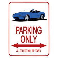 Mazda MK1 Azul cartel de no - 215-805