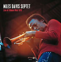 "Miles Davis Septet : Live at the Fillmore West, San Francisco Vinyl 12"" Album"