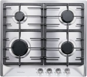 Miele KM 360 G Stainless Steel 30 in. Gas Gas Cooktop