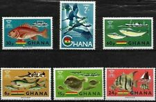 GHANA. FREEDOM FROM HUNGER UN-MOUNTED MINT SET OF STAMPS + 1.. 1966..
