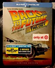 Back to the Future Trilogy Blu-ray/Digital 30th Target Limited Edition STEELBOOK