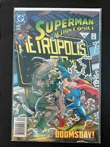 ACTION COMICS #684  DC COMICS 1992 VF+ NEWSSTAND