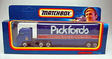 "Matchbox convoy cy24 DAF box truck ""Pickford"" top en Box"