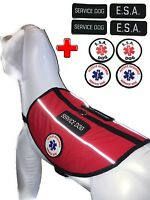 Service Dog Harness Emotional Support Animal ESA Vest Patches ALL ACCESS CANINE™