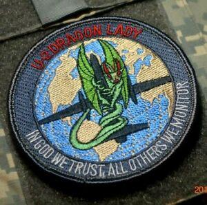 """U-2 Dragon Lady Burdock-Vêlkrö Patch : """" En God We Trust,Toutes Autres Moniteur"""