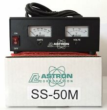 ASTRON POWER SUPPLY SS-50M. 13.8VDC 50A. BRAND NEW WITH WARRANTY